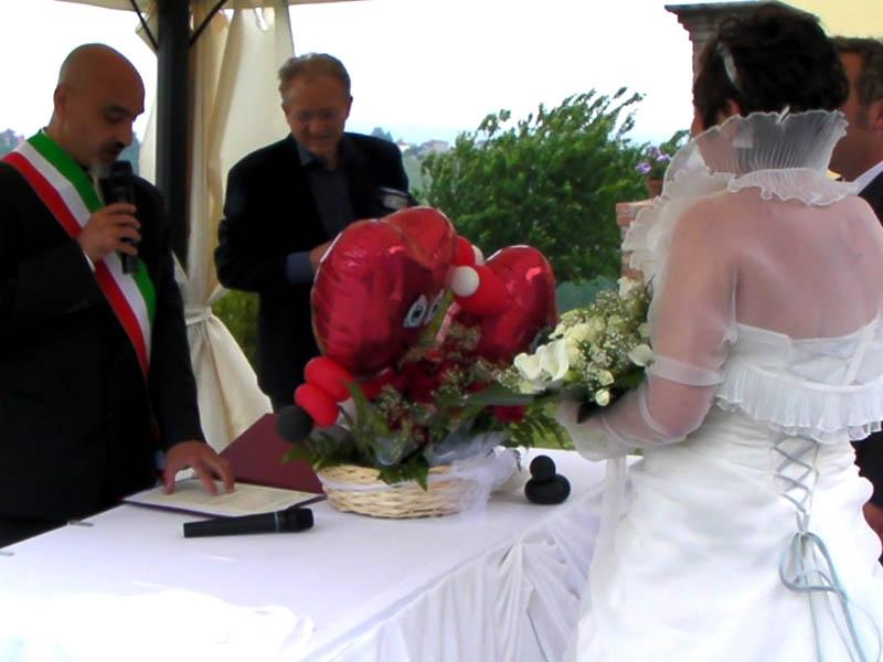 Celebrante Matrimonio Simbolico Piemonte : Attore celebrante officiante sindaco animazione per matrimonio
