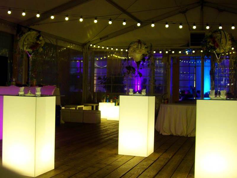 Illuminazione Tavoli Matrimonio: Winter wedding location allestimento tavoli luci illuminazione.